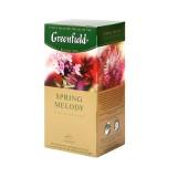 Чай Гринфилд Спринг Мелоди черн с травами 25пак