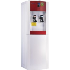Aqua Work 16-LD/EN-ST бело/красный напольный электронный с системой турбонагрева