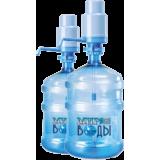 """Вода питьевая """" Мир воды"""" 18,9 литров"""
