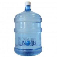 """Вода питьевая """"Мир воды"""" 18,9 литров"""